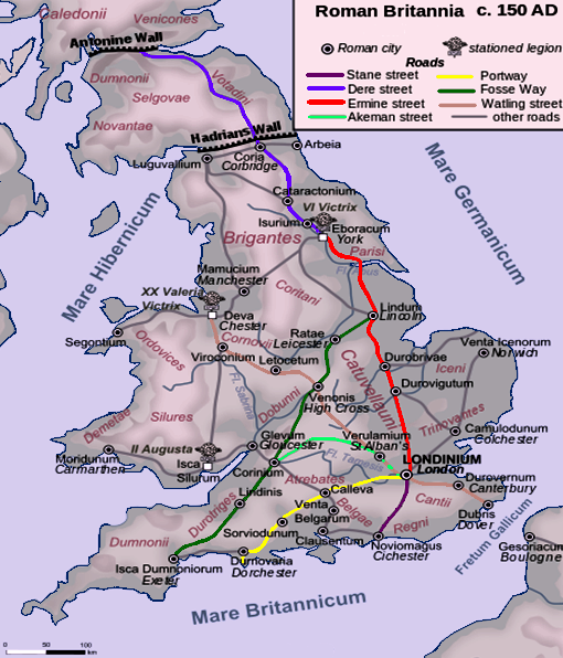 Roman roads in britain MMIM